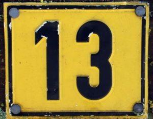 13 cislo