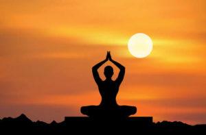 odpocinek a meditace