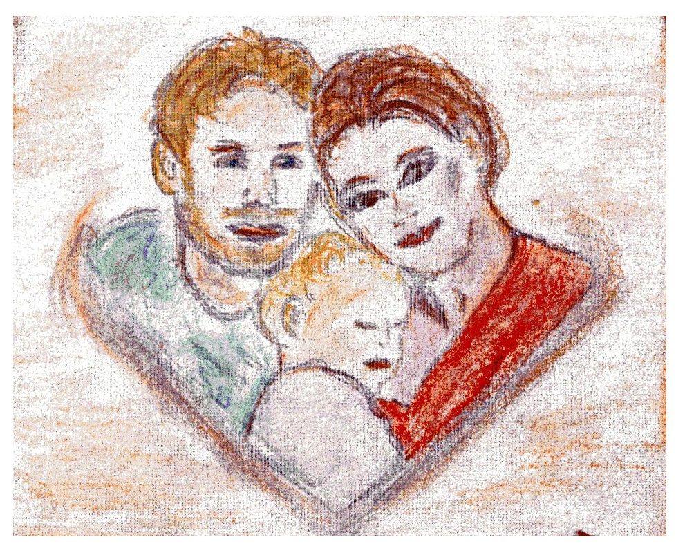 rodina, deti jako vzor, pozorovani auceni