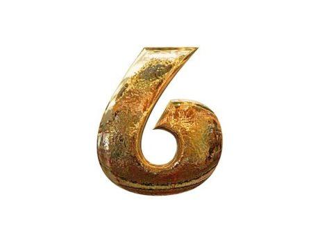 sest, cislo sest, sestka, numerologie