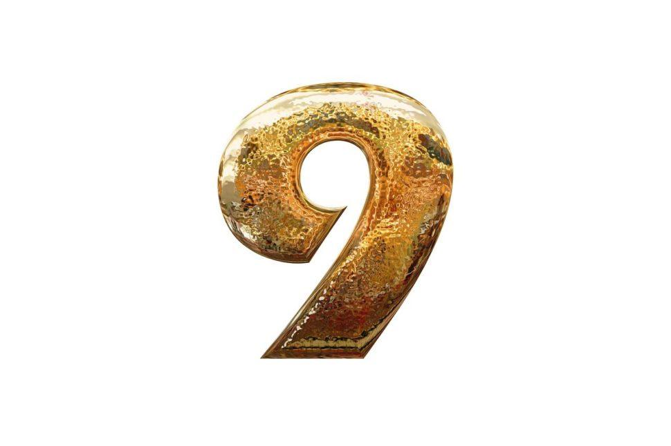 cislo devet, devitka, numerologie