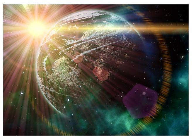 Vesmir, pohyby planet, vliv navas