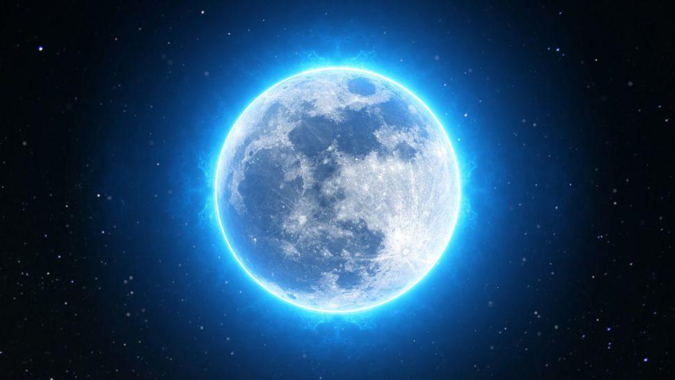 modry mesic, uplnek v byku, halloween