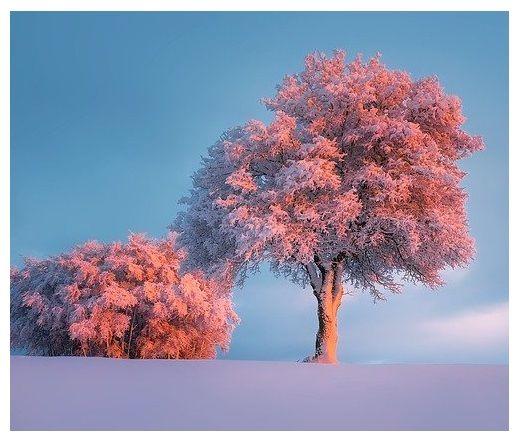 krasa zimy, klid, harmonie