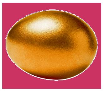 zlate vejce, bezpeci vs. risk